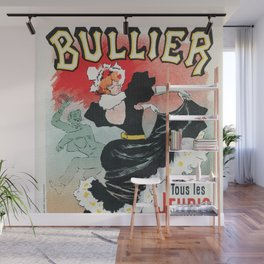 Bullier French dance hall days Wall Mural
