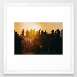 P E A R L S Framed Art Print