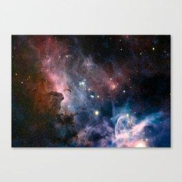 Watecolour Galaxy Canvas Print