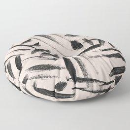 Tribal pattern nuetral Floor Pillow