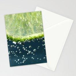 Lemony Limy Stationery Cards