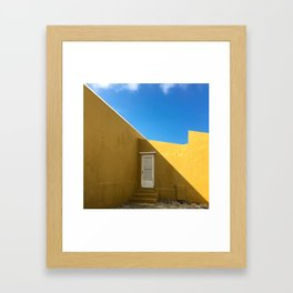 Yellow Tuesday Framed Art Print