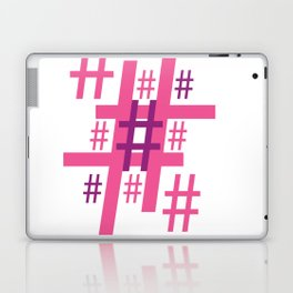 Hashtag Laptop & iPad Skin