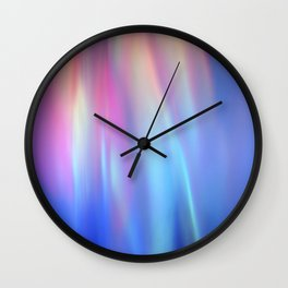 Heavenly lights in water of Life-3 Wall Clock