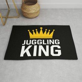 Juggling king Rug