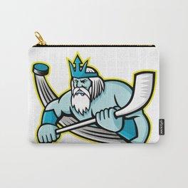 Poseidon Ice Hockey Sports Mascot Carry-All Pouch