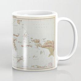 Republic of Indonesia Map (1957) Coffee Mug