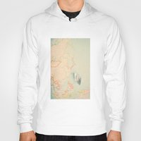 map Hoodies featuring map by Ingrid Beddoes