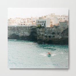 Summer in the riviera Metal Print