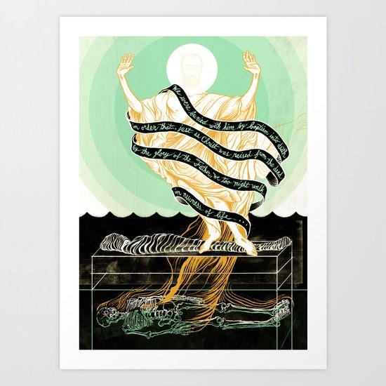 Newness of Life Art Print