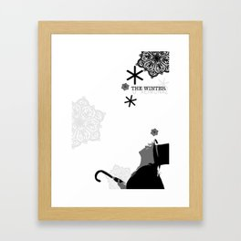 Meet Niko, Winter Things Framed Art Print