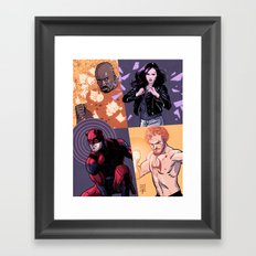 Defenders Framed Art Print