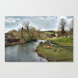 River Wye at Bakewell Canvas Print