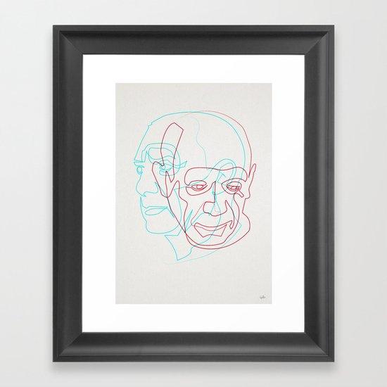 Picasso Framed Art Print