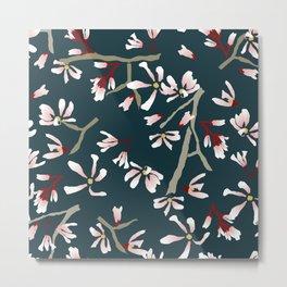 Pink Spring Tree Metal Print