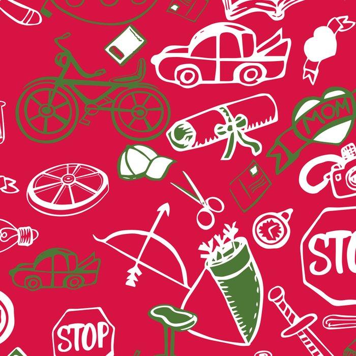 Traditional Christmas Medley - by Jezli Pacheco Leggings