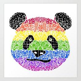 Panda Pride Art Print