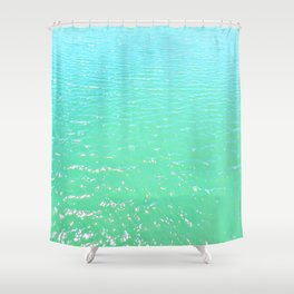 Open Water II Shower Curtain