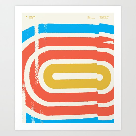 Center Field — Matthew Korbel-Bowers Art Print