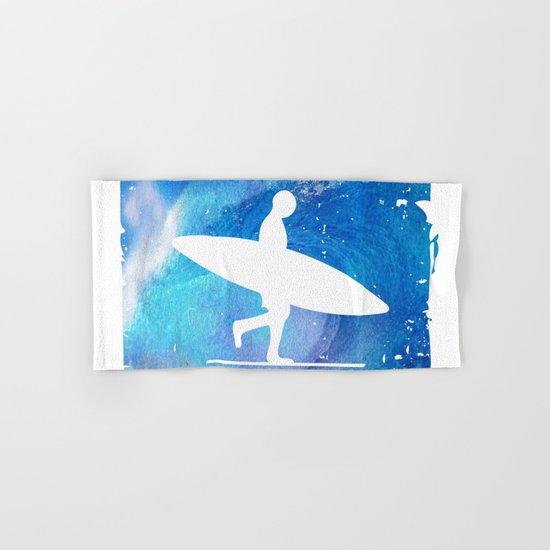 Wave Surf Area Hand & Bath Towel