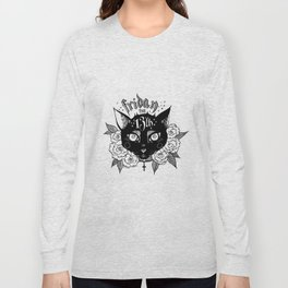 Happy Friday the 13th Long Sleeve T-shirt