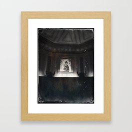 Constance Haunted Mansion by Topher Adam 2017 Framed Art Print