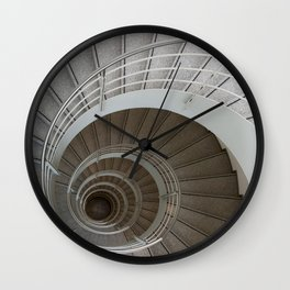the spiral (architecture) Wall Clock