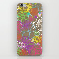 Dancing Flowers iPhone & iPod Skin