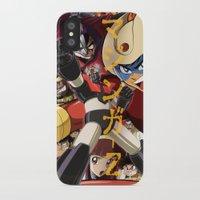 manga iPhone & iPod Cases featuring Manga 07 by Zuno