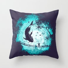 My Secret Friend Throw Pillow