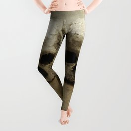 Three skulls Leggings