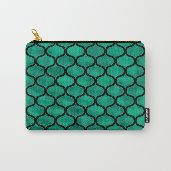 Lovely Pattern VV Carry-All Pouch