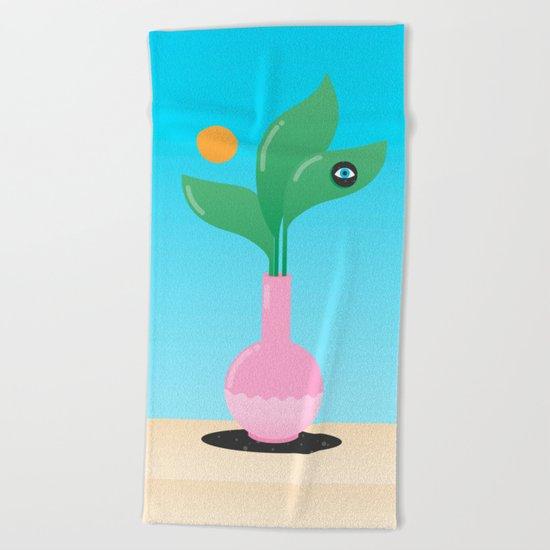 Flora and Fauna Beach Towel