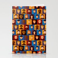 picard Stationery Cards featuring STARFLEET by badOdds