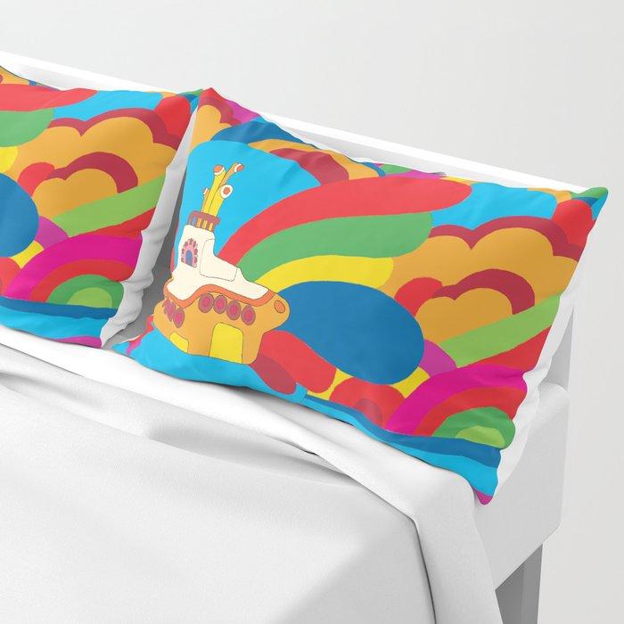 Yellow Submarine Pillow Sham