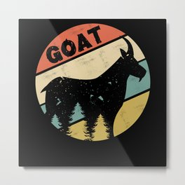 Goat Farmer Metal Print