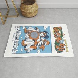 Goku & Roshi Dragonball Rug