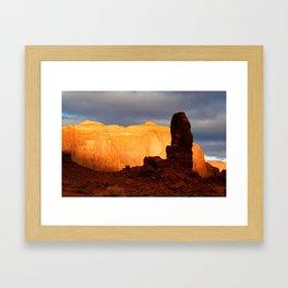 Aglow Framed Art Print