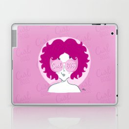 Curl Boss Laptop & iPad Skin