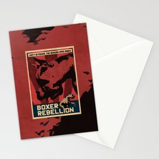 Boxer Rebellion  Stationery Cards