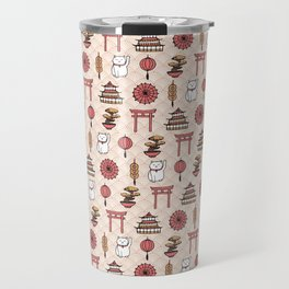 Japanese pattern Travel Mug