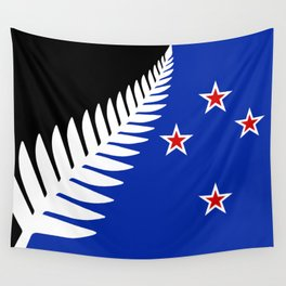 Proposed new national flag design for New Zealand Wall Tapestry