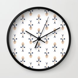 Find the Face: Construction Tools (Patterns Please Series) Wall Clock