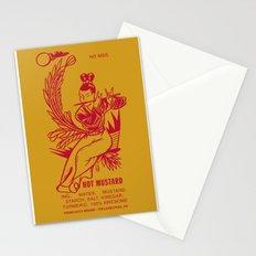 Hot Mustard Stationery Cards