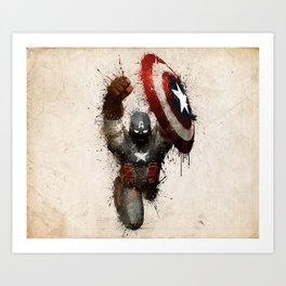 The Captain Art Print