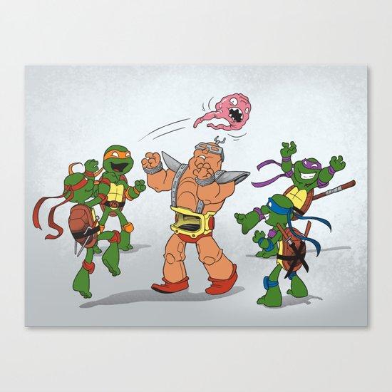 Keep Away! Canvas Print