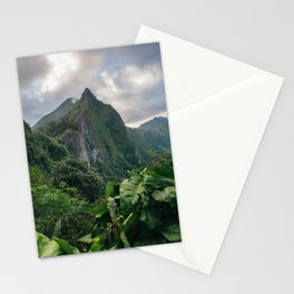 Old Pali Highway  Stationery Cards