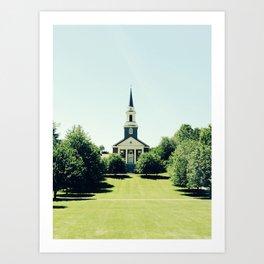 Colby Church Art Print