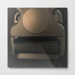 Do you find me strapping? Metal Print
