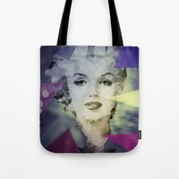 marilyn Tote Bags featuring Marilyn by Esco